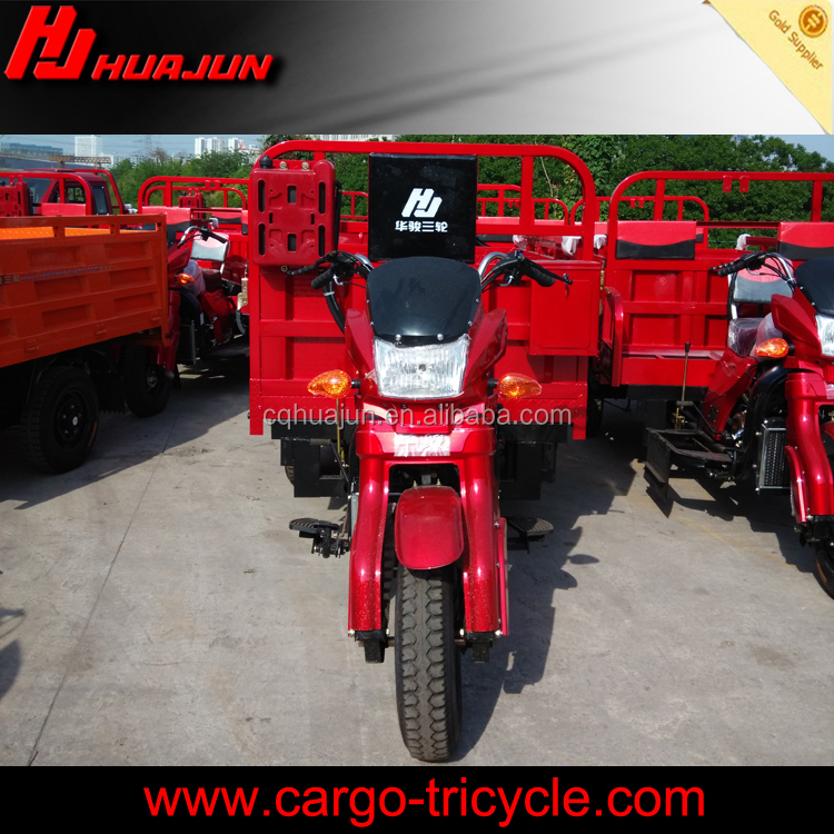 4-stroke three wheel motorcycle for adult carrying cargo