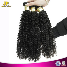 JP Hair Long Keeping Virgin Malaysian Kinky Curl Sew In Hair Weave