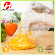 China manufacture clearHDPE/LDPE safty FDA certificate plastic bags for food