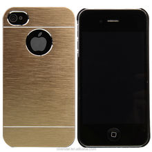 Newest Motomo Luxury For Apple iPhone 4/4s Aluminum Metal Brushed Hard Slim Case Cover