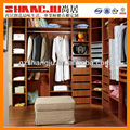 Classical PVC surface embraced wardrobe factory