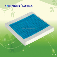 Comfortable Square Gel Pillow For Sitting