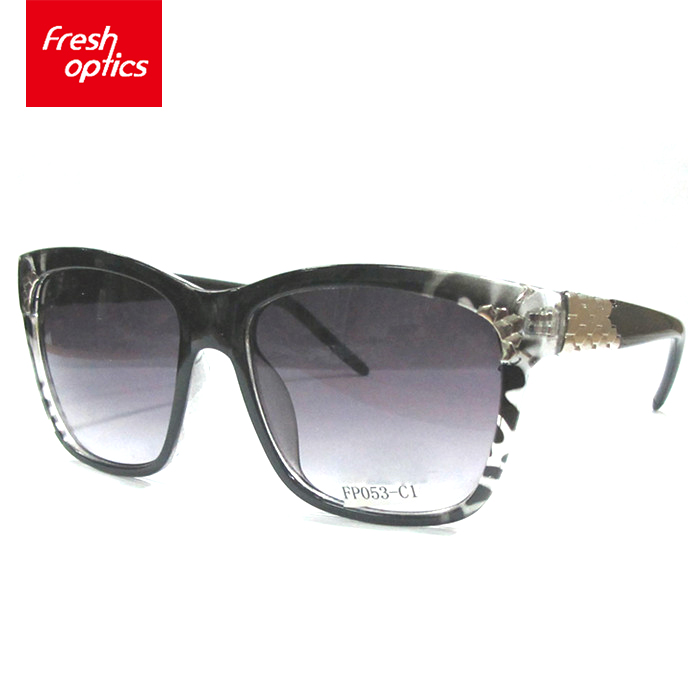 Good reputation high quality printed bifocal PC sunglasses