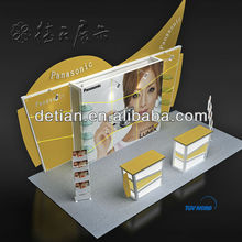 modern exhibition booth,modular display stand,modular display system