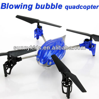 rc quadcopter rc bubble quadcopter RC Blowing bubble UFO