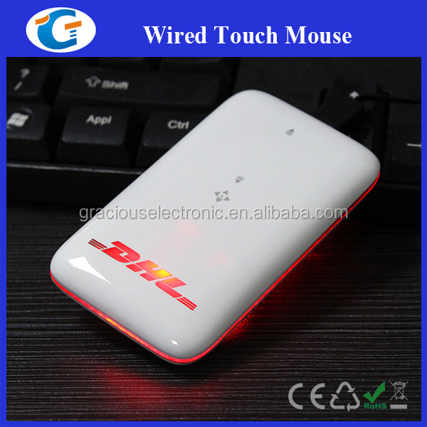 Hot sell wired computer mouse arc touch mouse best for promotional gift