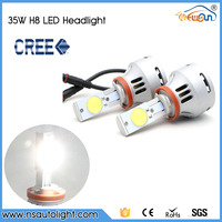 70W 12V 24V Super Bright Car LED Front Headlights High Power H8 Auto Led Headlight Bulb Lamp Xenon White