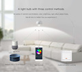 5W WIFI Alexa Bulb RGBW control by IOS and Android phone