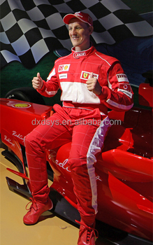 Michael Schumacher Lifelike Full Size Silicone Wax Figure
