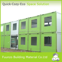 Easy Assembly Demountable Good insulated Fast Build Cost Effective Mobile Homes