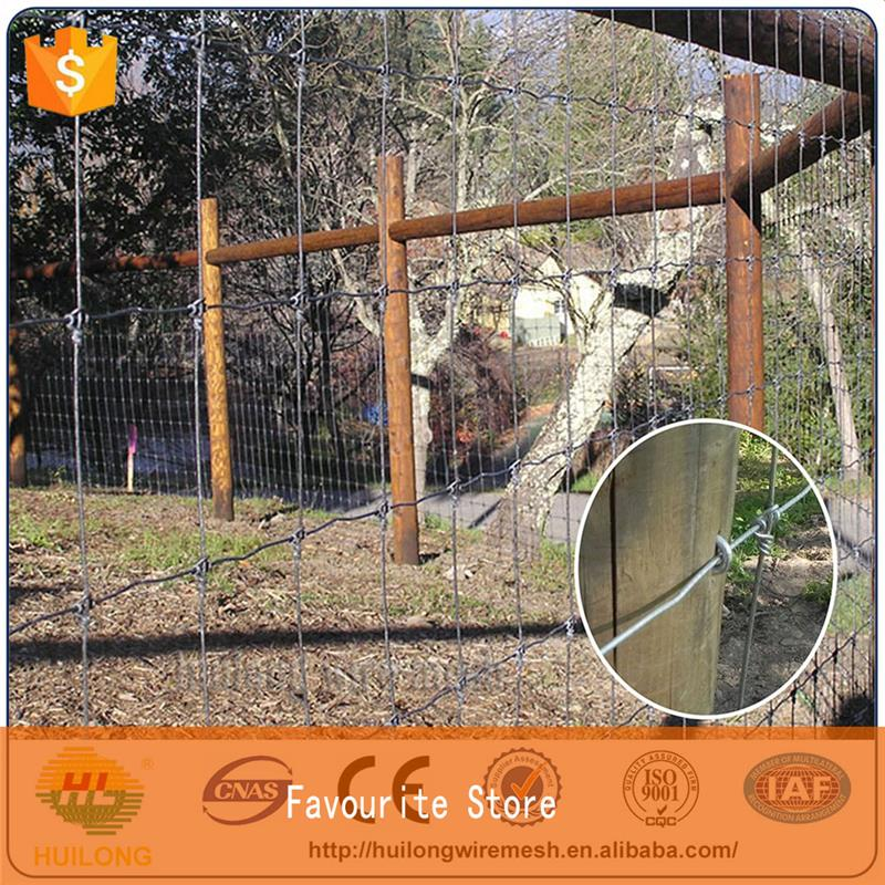 Wholesale High Tensile Field Fence On Sale ISO certificte