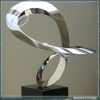 2016 Europe style stainless steel custom sculpture reproduction