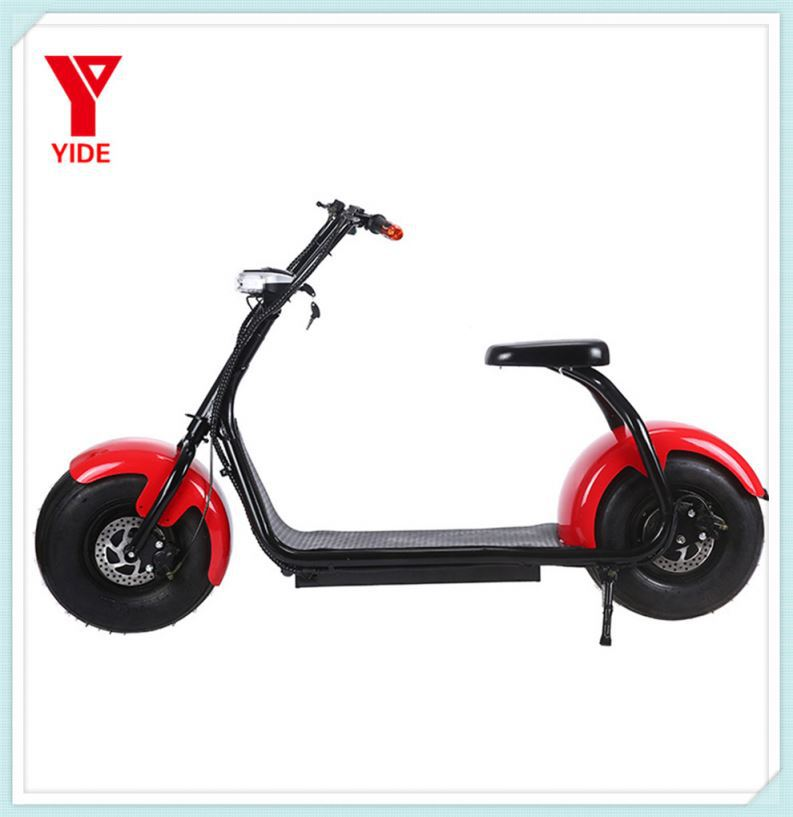 china warranty 1 year 2 wheel 1000w 60v 35km/h smart seev citycoco multi color 2 seat mobility scooter for sale
