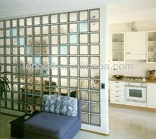 glass brick block for partition/brick glass for bathroom