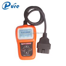 Update online 100% original Memoscan Mini U581 CAN OBDII/EOBDII Reader memoscan U581 scanner with USB interface multi-language