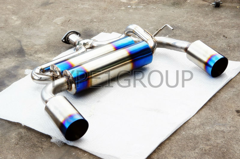Exhaust System for Lancer Ex Evo10