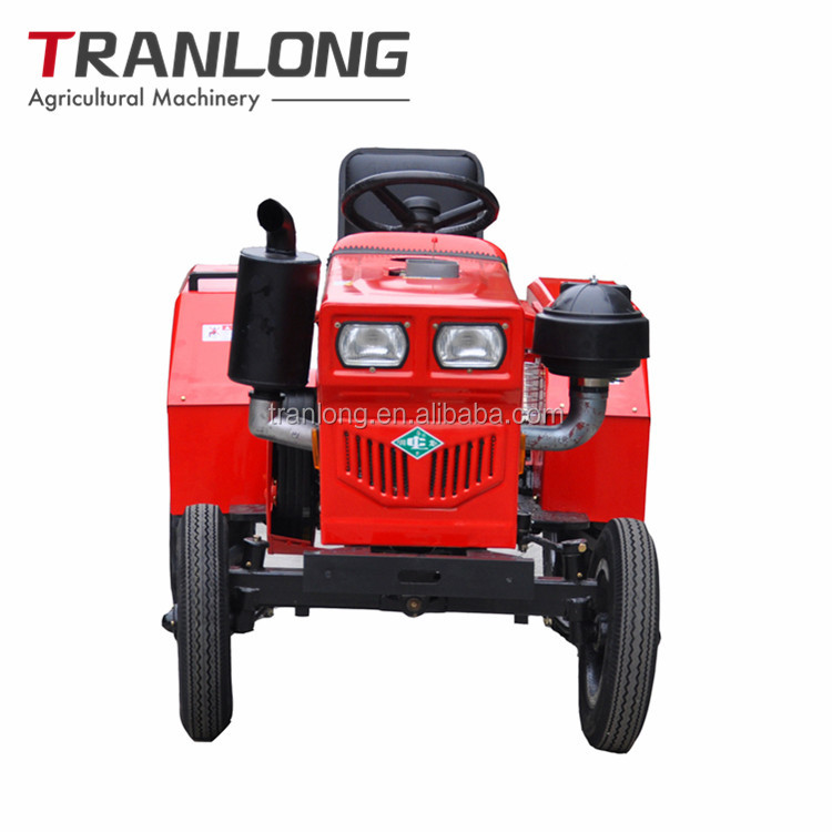 Single cylinder belt drive agricultural small Chinese farm tractors for sale