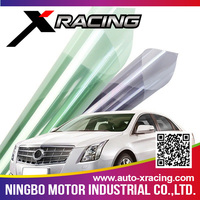 #01505S Xracing one way vision transparent window film,high reflecting window film,solar mirror film