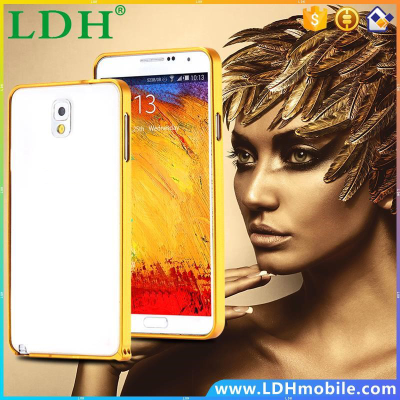 Note 3 0.7mm Luxury Ultra Thin Slim Aluminum Hard Case For Samsung Galaxy Note3 III N9000 Mobile Phone Accessories