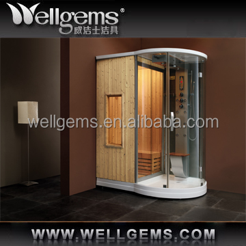 mini ozone wooden steam foot sauna WG-U880 for sale