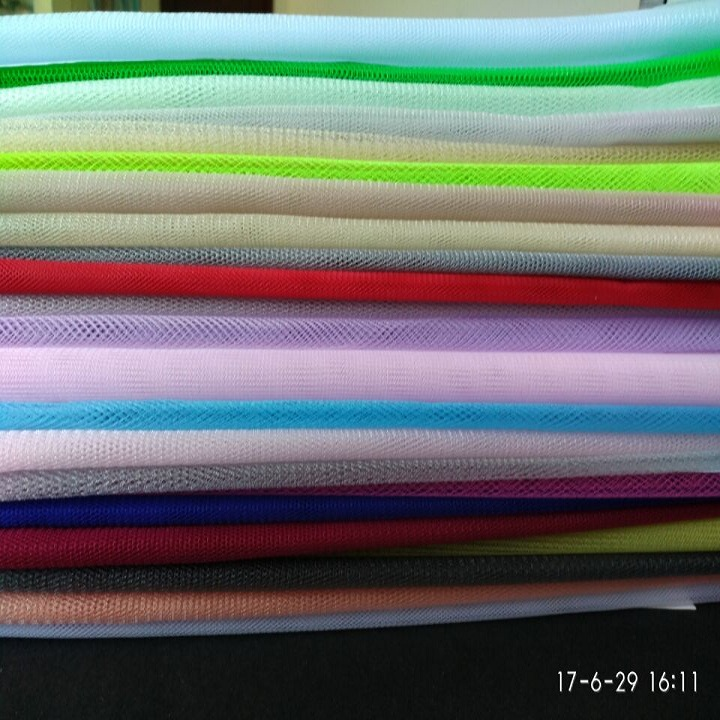 Customized 20D cheap high quality hexagonal mesh fabric