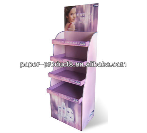 t-shirt cardboard display/ cardboard pdq display/ merchandising display box