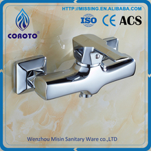 Wholesale cheap prices hot and cold water tap bath shower faucet mixer