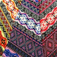 Indian design whole sale polyester stretch fabric china