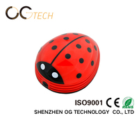 AA battery desk cleaner Beetle Ladybug easy use mini vacuum cleaner