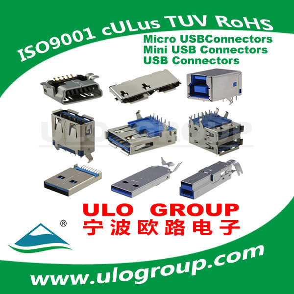 Modern Branded Male Micro Usb 7pin Female Connector Manufacturer & Supplier - ULO Group