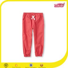 Latest 2016 loose and comfortable high quality cheap casual kids capri cotton pants jogger pants
