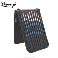 High Quality Pony Hair Professional Artist Brush Set Promotional Gifts