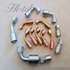 High quality Iron steel hose barb fitting with zinc plated,hydraulic hose fittings