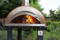 outdoor portable brick pizza oven wood burning wood fire pizza oven