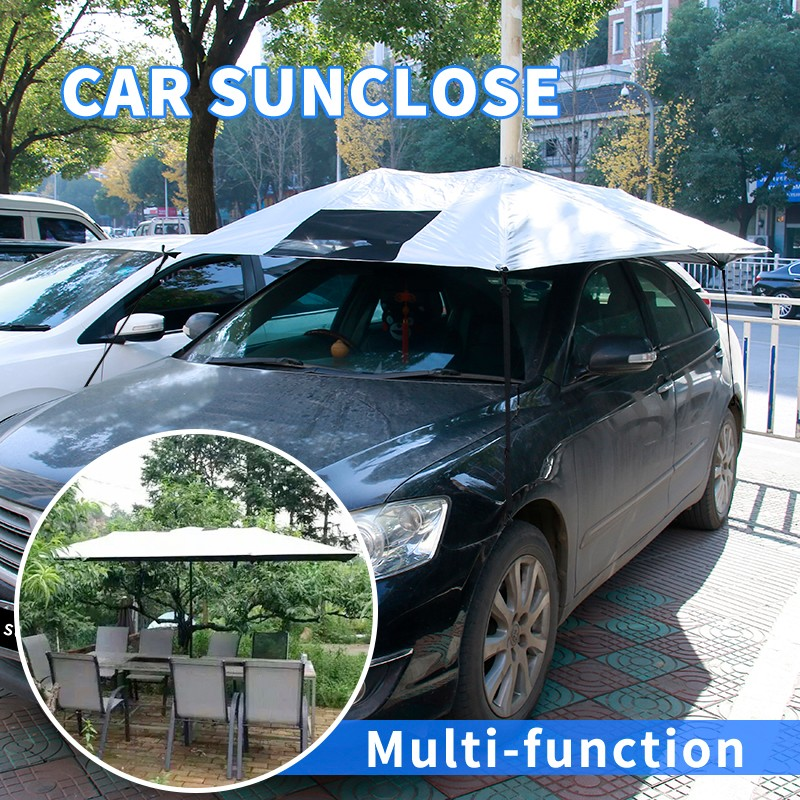 SUNCLOSE tent inflatable dome car parking shade cloth folding garage tent