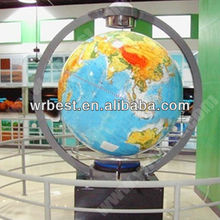 180 cm big size globe in museums, magnetic levitating rotating globe,super size map globe & large/big magnetic levitation globe