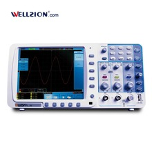 SDS8102,100MHz Bandwidth 1ns/div~100s/div Horizontal Scale digital oscilloscope portable