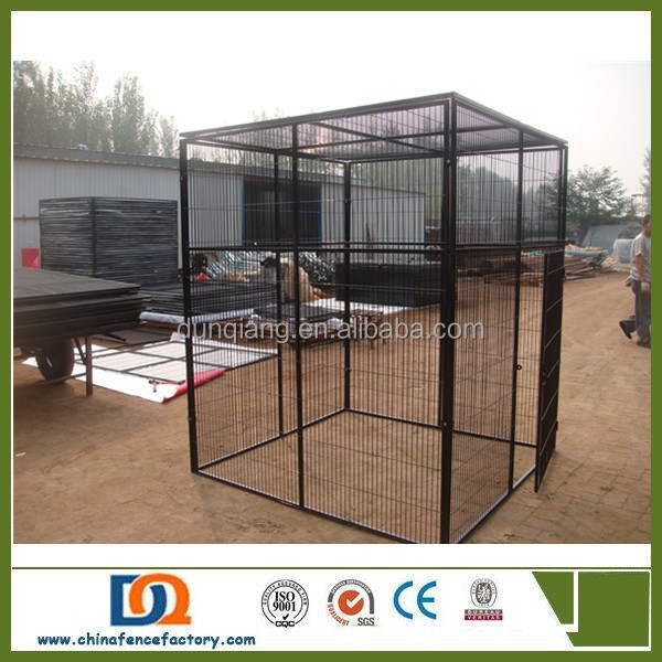 Outdoor PVC Coated large Dog Kennel Runs