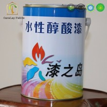 Nonirritant smell water based alkyd resin enamel paint