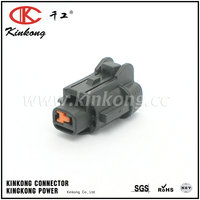 Kinkong 1 Pin Black Female Sealed Different Types Of Connectors For Sumitomo