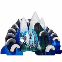 hot sale Snow Mountain inflatable water slide/ waterslide/ wet dry slide supplier china