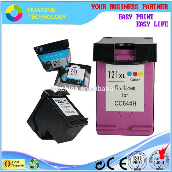 factory direct sale compatible hp 121 ink cartridge