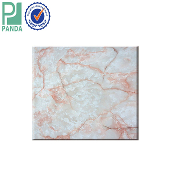 1220x2440 mm Size of UV printing PVC Free Foaming Marble Board Made in China Factory