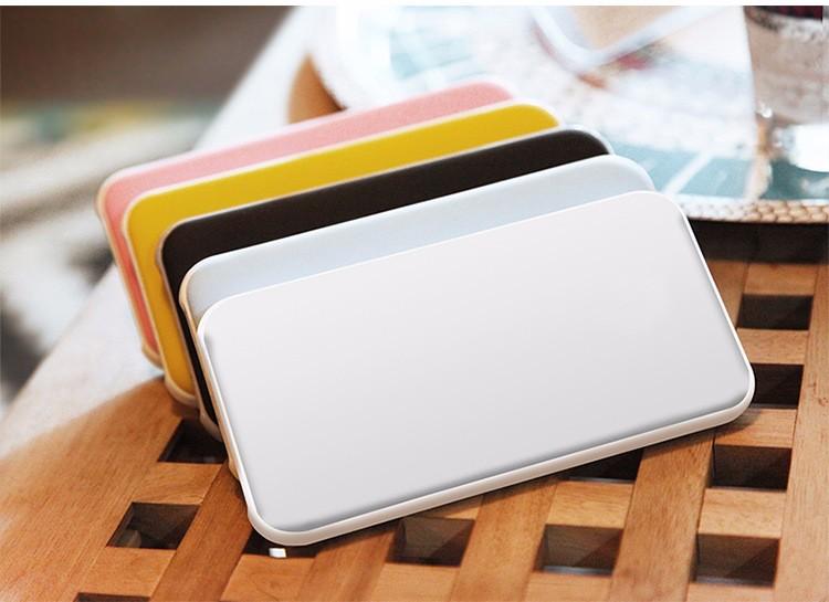 Shenzhen novos produtos banco de potência 10000 mah super slim Cartão de Crédito Móvel de Alimentação