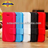 Slip Folded With Support Stand Case Cover for iPhone 5 5S 5C