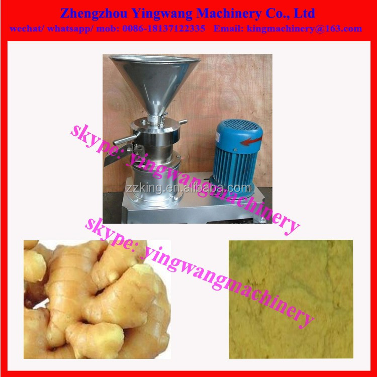 Garlic / ginger /chili /pepper /spice /onion paste making grinding machine