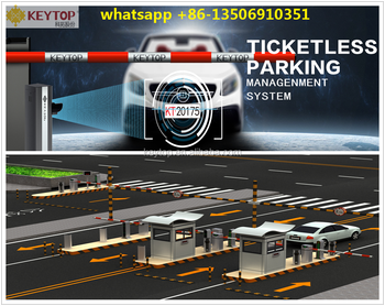 KEYTOP Automatic Number Plate Recognition (ANPR) Parking Management System