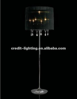 Floor Lamp Modern Crystal Floor Lamp