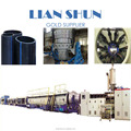 HDPE tube production line plastic pipe making machine