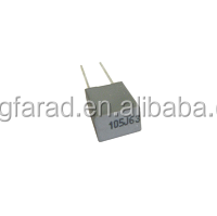 High quality minibox metallized polyester film capacitor CL23 MEK